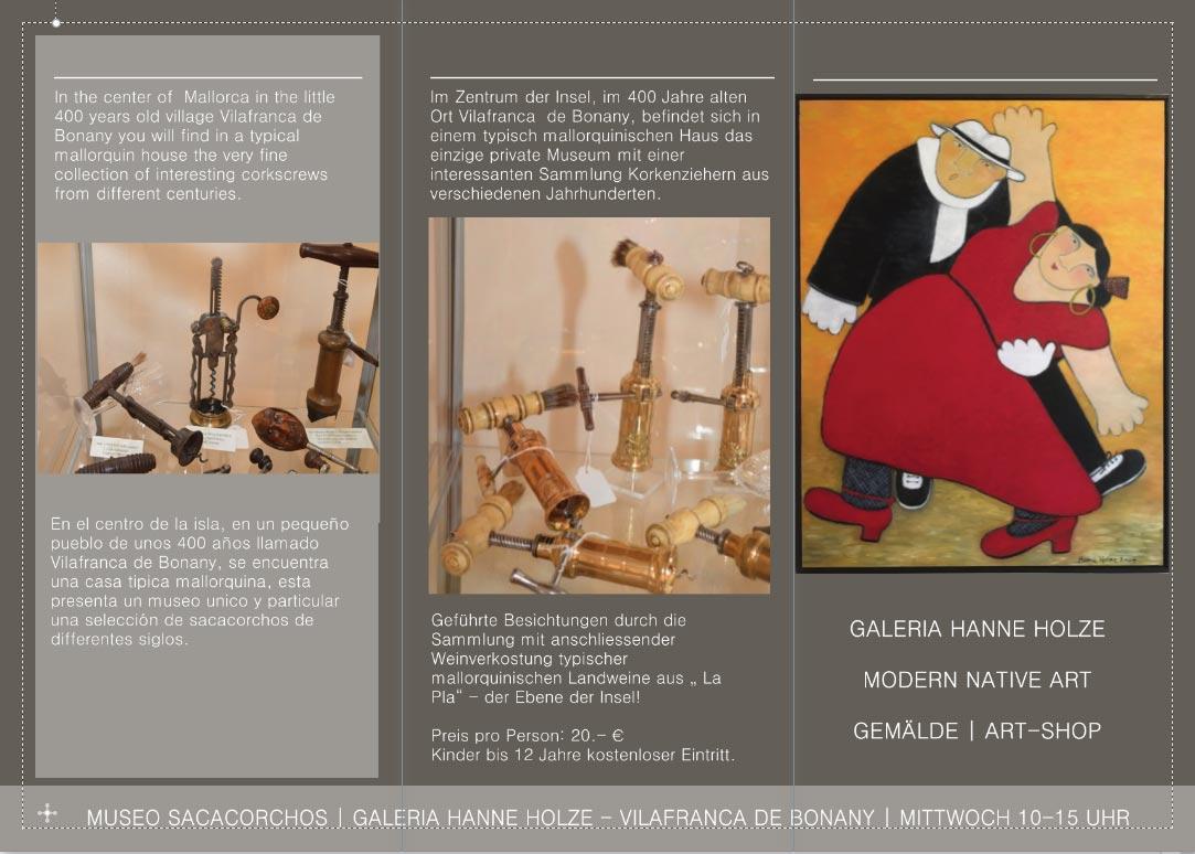 Galeria Hanne Holze <br />Entwicklung der CI, Coding, Grafik & Layout für Online & Printwerbung<br />www.hanneholze.eu