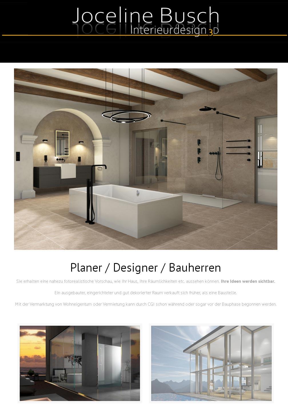 Joceline Busch Interieurdesign<br />Entwicklung der CI, Grafik & Layout für Online<br />www.joceline-busch.de
