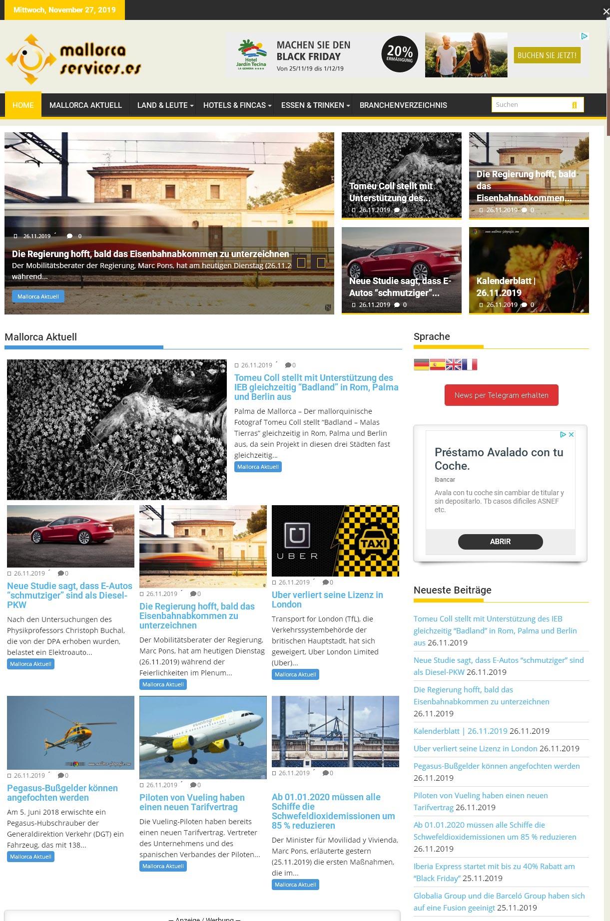 mallorca-services.es<br />Entwicklung der CI, Grafik & Layout für Online<br />www.mallorca-services.es