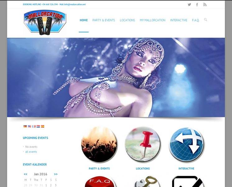 mallorcation.com<br />Layout > Erstellung > Website & Buchungssystem<br />www.mallorcation.net