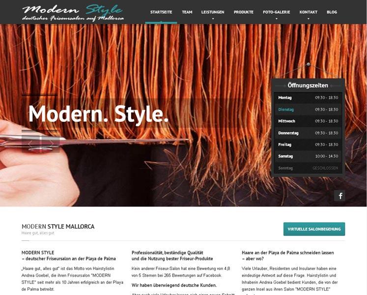Modern Style<br />Grafik, Layout & Programmierung<br />www.modern-style-mallorca.com.com