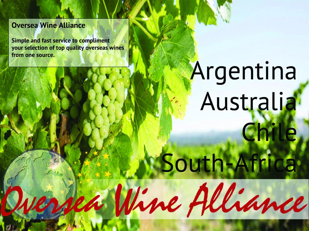 Oversea Wine Alliance<br />Entwicklung der CI, Grafik & Layout für Printwerbung<br />www.oversea-wine-alliance.com